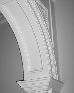 Classic Plaster Archway